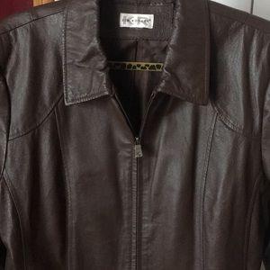 Kim Rogers Leather Jacket
